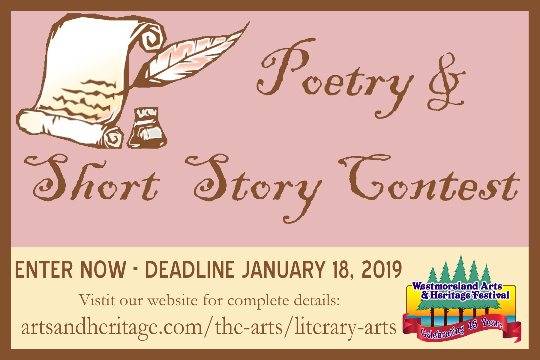 Literary prizes for short fiction contests